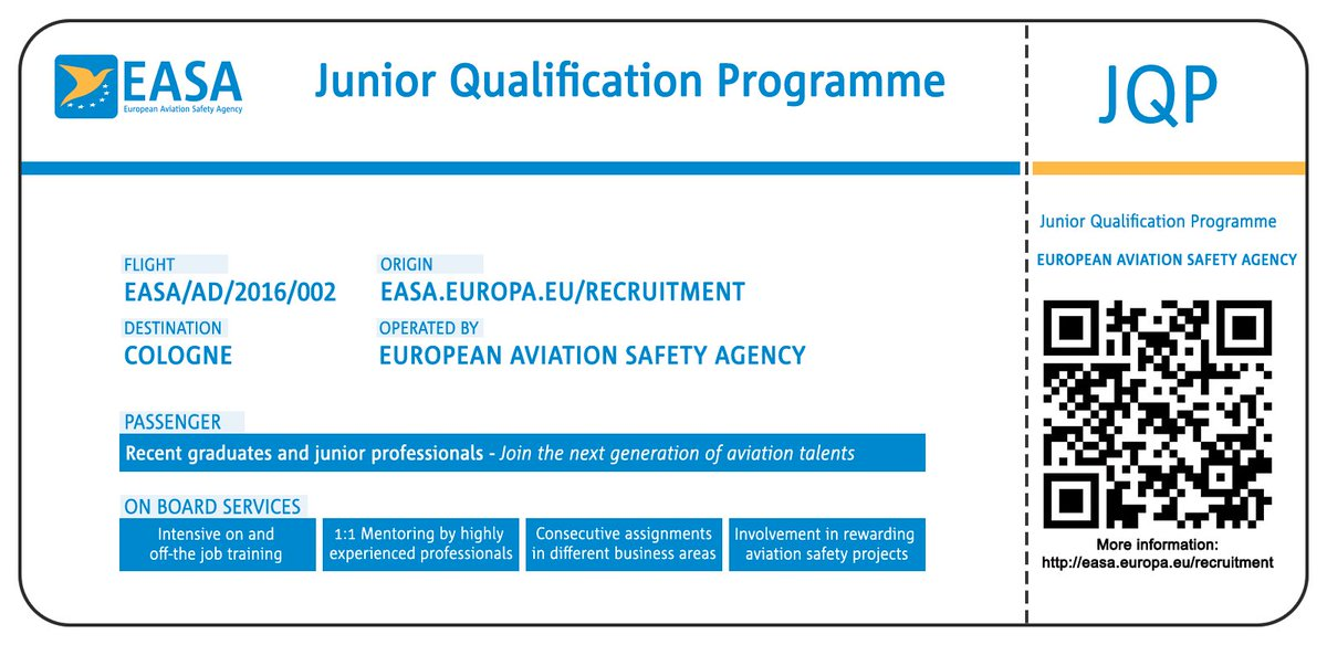 12 days left to apply for the Junior Qualification Programme (JQP). More info