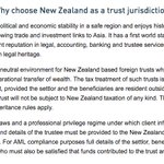 John Keys trust law firm explaining why NZ is a great place to avoid tax #panamapapers #taxevasion https://t.co/D0ghaWEbbV