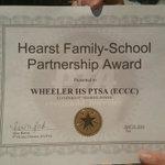 "Congrats to our PTSA for winning the District 9 standard 5 ""Sharing Power"" award!!! 👏🏆👏🏆👏🏆 https://t.co/nmNR2wJwAp"