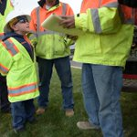 Jacob Poarch, 7, with dads work crew during #TakeOurDaughtersandSonstoWork #Longmont #Colorado https://t.co/WViYYujf6M