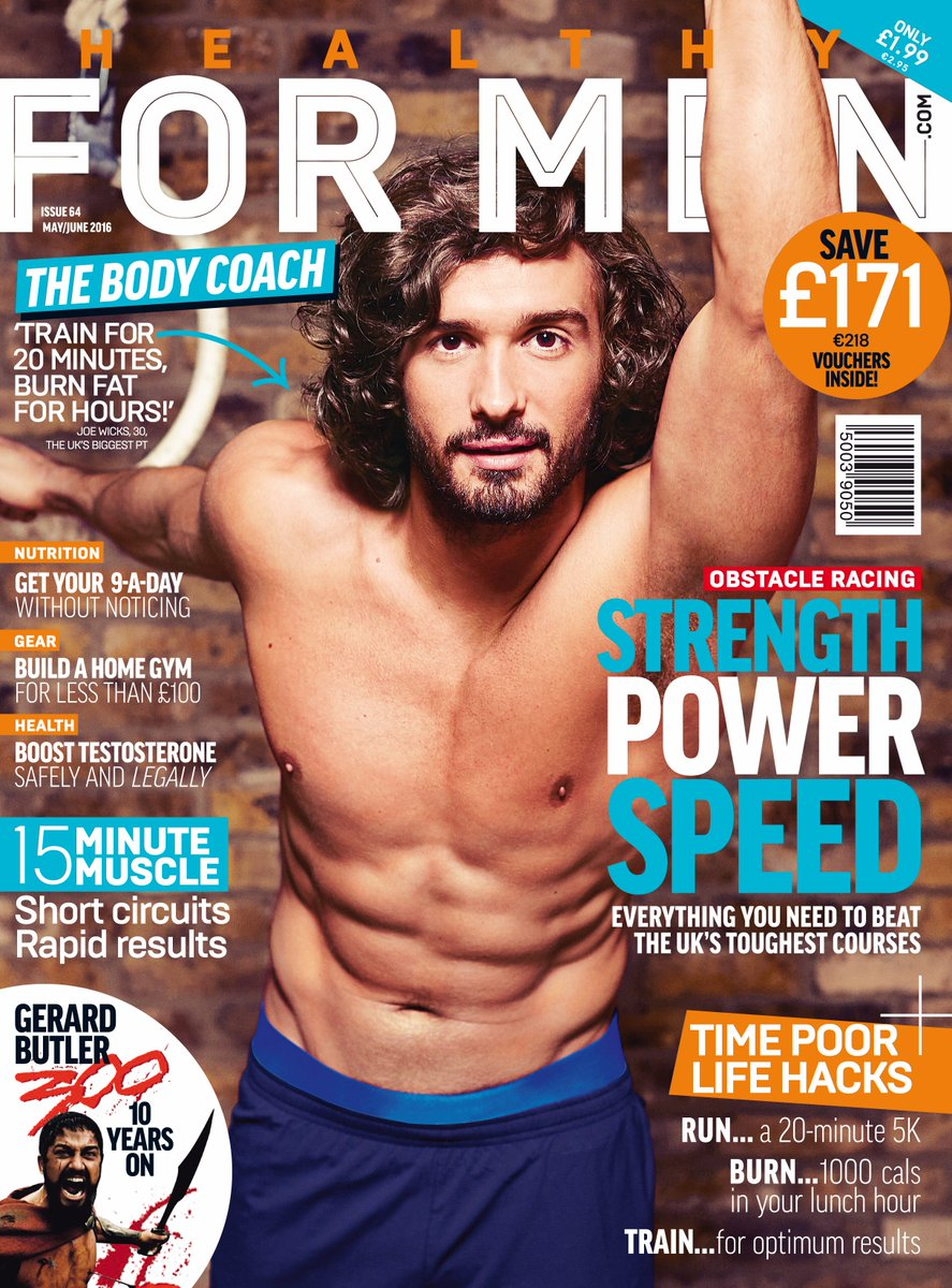 Have you picked up the new @HealthyForMen mag featuring @thebodycoach? Find it in store now, full of useful advice! https://t.co/uEVZ8736pu