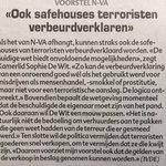 Vandaag ingediend: wetsvoorstel @DeWitSophie om terroristische groeperingen financieel & logistiek te raken @HLN_BE https://t.co/uqQWxCcc3m