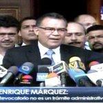 """Márquez sobre """"Megafirmazo"""": Maduro tendrá que abandonar Miraflores ante este río crecido https://t.co/82dnlbvITN https://t.co/ZR9izvOiFe"""