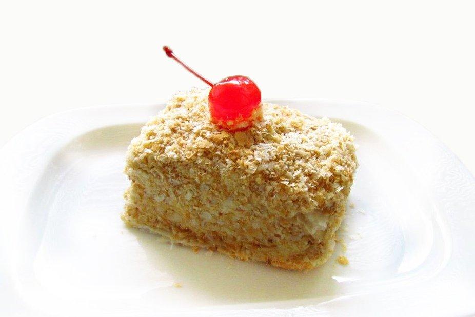 Испечь торт дома наполеон