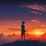 Bir gün kaybolduğunu hissedersen Sonsuz bir kızıllıkta Bil ki Gökyüzüne dönmüştür için, Hazırsın Güneş gibi doğmaya. https://t.co/OnKsSpJynK
