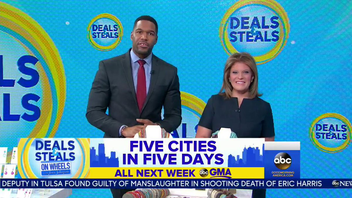 Deals And Steals And Toryjohnson Are Going On The Road Its Deals And Steals