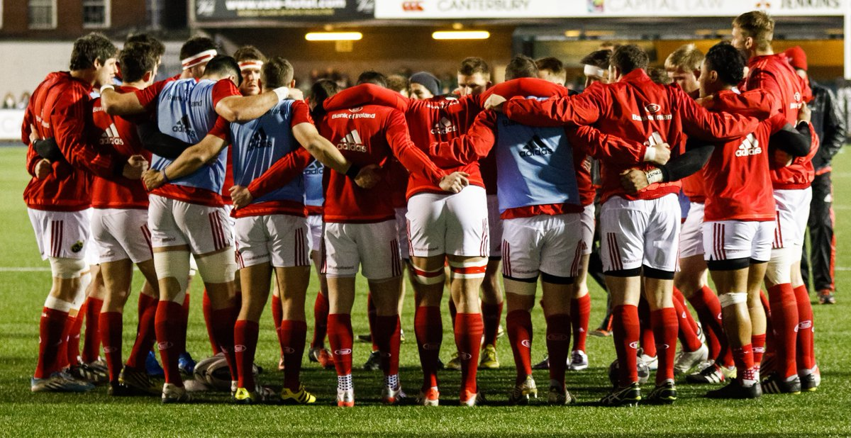 The @MunsterRugby Red Sea will not part. On the pitch & in the stands, we'll stand as one. #MunsterSupport #WeAreOne https://t.co/f8C8sBhoA1