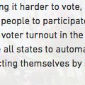 NEWS: Sanders Statement on Vermont's New Automatic Voter Registration Law https://t.co/UlxgNyXWvr https://t.co/thznV2RY6k