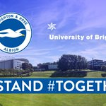 As the city's university, we're proud to back our city club @OfficialBHAFC for promotion #Brighton #Together https://t.co/C0Lga2yyf6