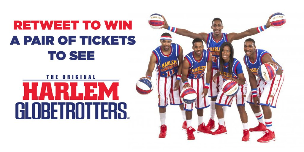 Retweet to win a pair of tickets to see @Globies at @ArenaNewcastle Tomorrow! #HarlemGlobetrotters https://t.co/85u0vAPaBa