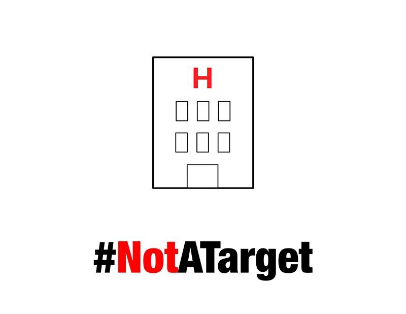 Destruyeron el principal centro de referencia en atención pediátrica en #Alepo https://t.co/C3mY3kCIE0 #NotATarget https://t.co/7liGn9aN0G