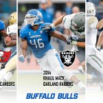 .@UBFootball has had a player picked in each of the last 3 @NFL Drafts. Whos gonna be next? #ForeverABull https://t.co/hQpplQxwbI