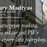 Prof. Cezary Madryas nowym rektorem @PWr_Wroclaw! Kadencję rozpocznie 1 września, zastąpi Tadeusza Więckowskiego. https://t.co/wxXEvVO2Kp