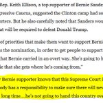 """Top Sanders surrogate: Bernie supporters have """"responsibility"""" to unite the party: https://t.co/n4ta0FeMXi https://t.co/EFYYPelMsk"""