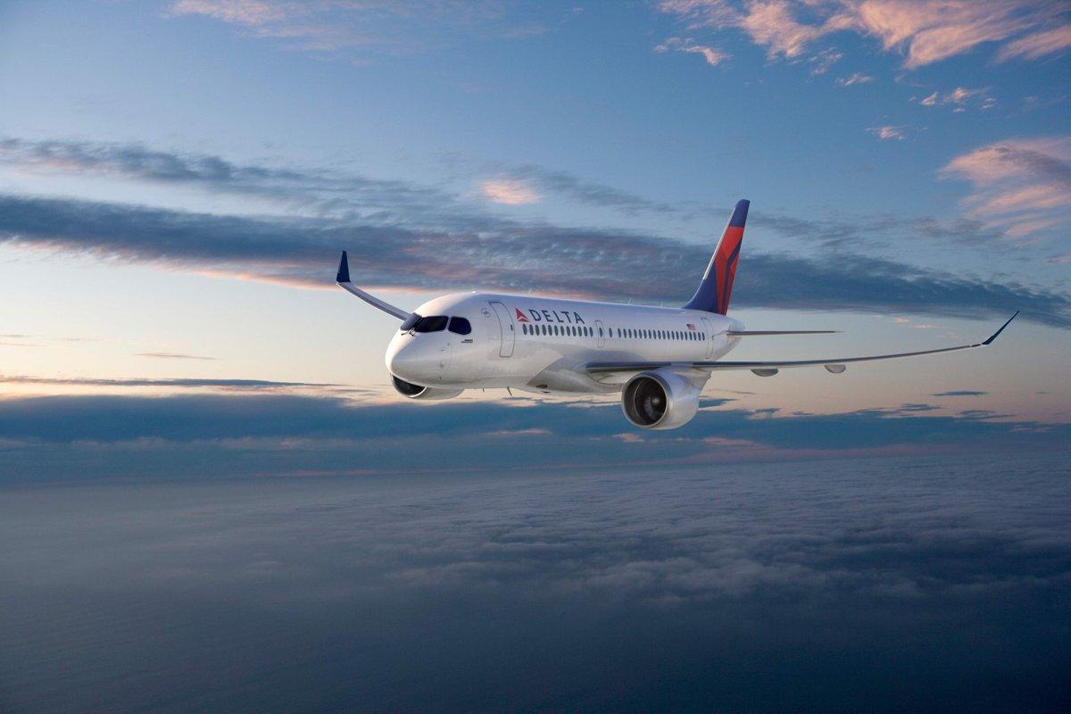 .@Delta orders state-of-art, fuel-efficient Bombardier C Series avgeeks @Bombardier