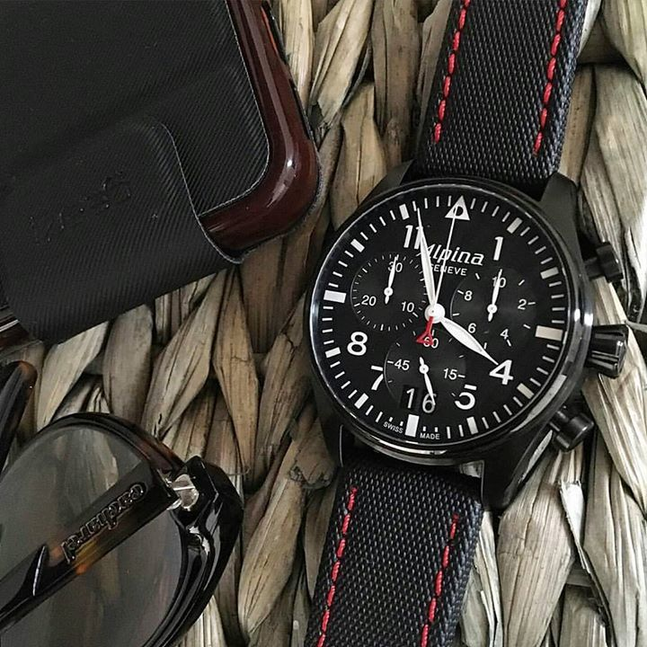 Startimer Pilot Chronograph Big Date Black quartz from our #OneDayAmbassador @bandrbands Thank you.  Discover the w… https://t.co/3w1o87ztPa