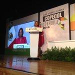 @COPECOL_2016 iniciamos conferencia  @RosarioMarin1   Ex Tesorera de los Estados Unidos @jm_fraustro @CopecolMx https://t.co/D1w1h6po4H