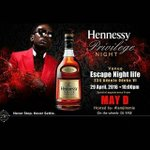 Is your partying game strong ? Come party with @mistermayd tomorrow at Escape Night Life cc @HennessyNIGERIA 👐👐👐  https://t.co/RJzDT1znMs