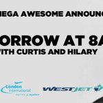 What could it be? Big Announcement with @CurtisRadio and @hilarywelch #ldnont https://t.co/uyqxw7WX7Z