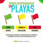 Respeta la simbología de banderas en playas es por tu seguridad. #Cancún #BenitoJuárez https://t.co/SjtWACUIus
