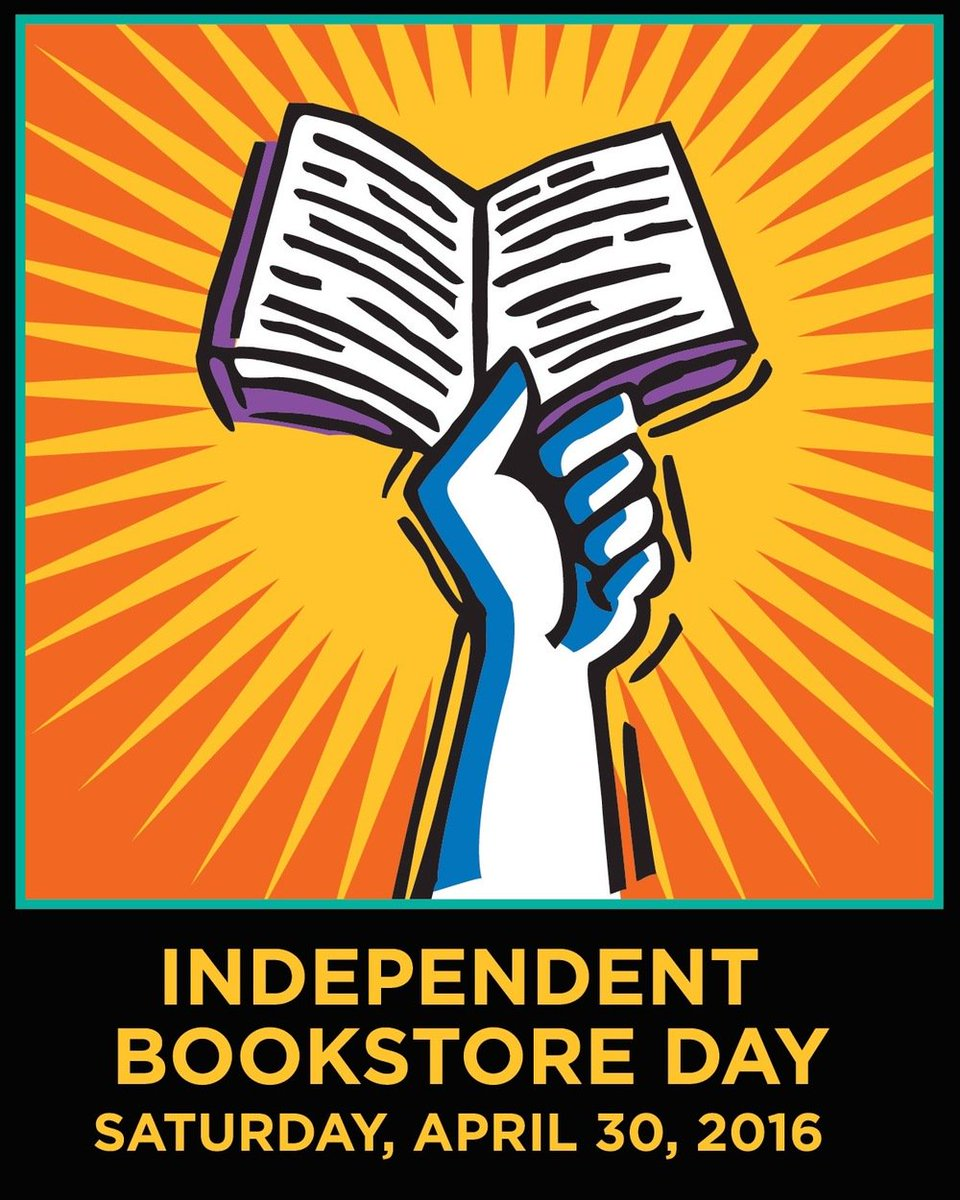 We must remind you (because we're very excited) that Saturday is Independent @BookstoreDay. https://t.co/o5cO5O4K3k https://t.co/jrNmTpoKw2