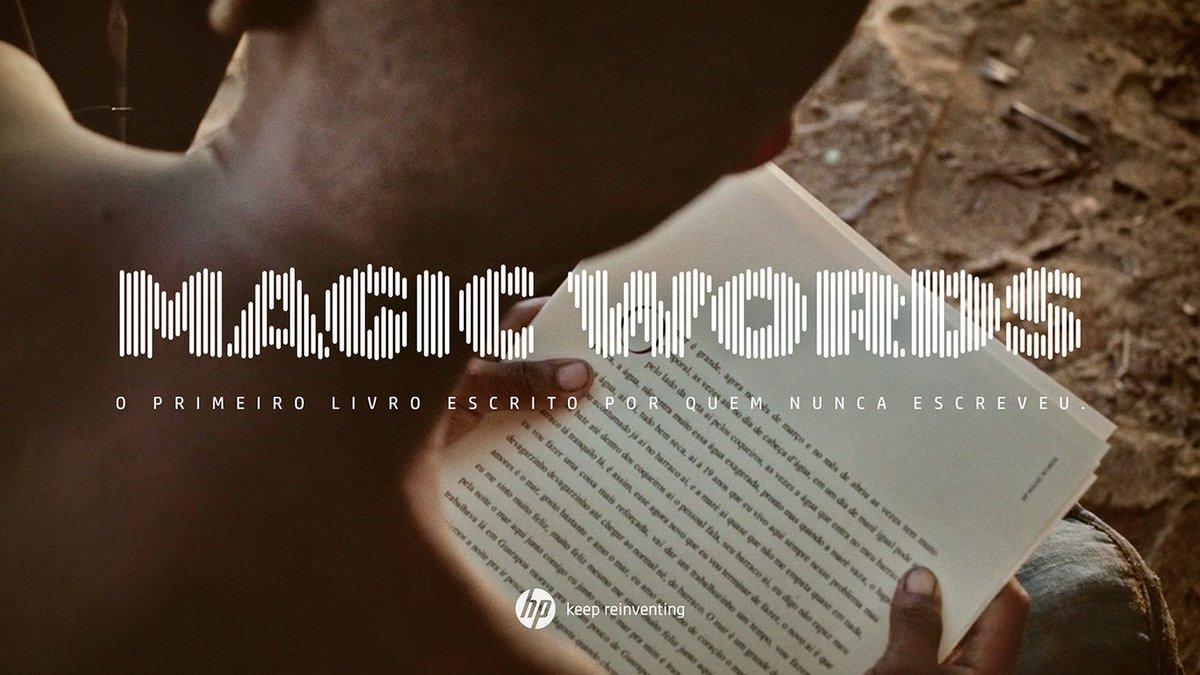 AlmapBBDO e HP apresentam Magic Words, o livro escrito por quem nunca escreveu: https://t.co/wAXdwiefq0 https://t.co/yP2iyGbsyj