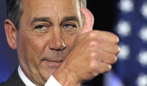 This election really IS bringing Republicans together! I AGREE with John Boehner that Cruz is Lucifer in the flesh! https://t.co/d17c9MZmuF