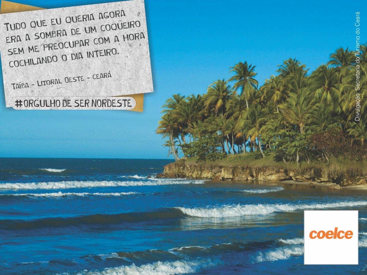 A Praia da Taíba é um pedaço do paraíso litorâneo no Ceará. São praias belíssimas com piscinas naturais. https://t.co/mSAEeV8kh7
