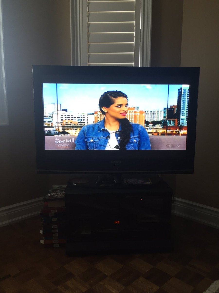 @IISuperwomanII watching you on the social!!! So proud to see someone from Ontario have so much success