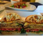 Grilled Vegetables Sandwich #visitnapavalley #donapa #eatguidenapa #lunch #napa https://t.co/dgTLHQdm0o