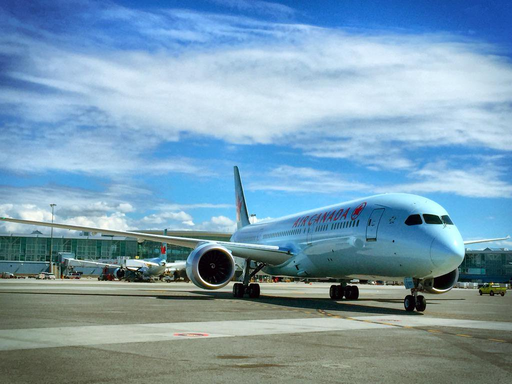 A @Boeing 787-9 to be flown by @AirCanada on new, non-stop flight from YVR to India