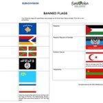Tiene su aquel lo de las banderas prohibidas en Eurovisión https://t.co/HLlW308EXZ