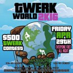 #1 PARTY IN ATLANTA! MANSION ELAN FRIDAYS presents #TwerkWorld2K16 this Friday!!! ((($500 TwErK cOnTeSt))) https://t.co/zsKzlIeYF6
