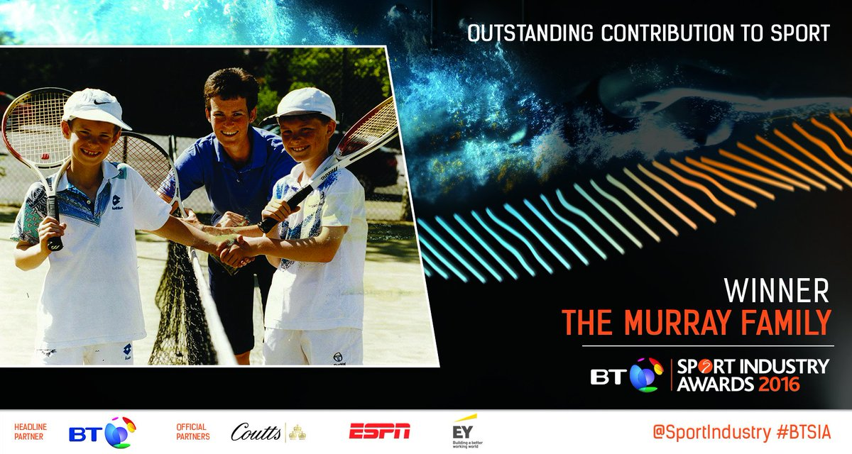 WINNER: Outstanding Contribution to Sport  The Murray family