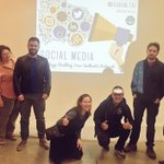 #BRIDGEGOOD project lead teaches & inspires #socialmedia students! @shaun_tai #OaklandDigital @bcc_multimedia #BCC https://t.co/lJdRPbndPa
