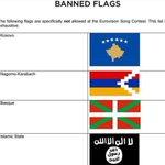 Eurovisión prohíbe la ikurriña y la equipara a la bandera del Estado Islámico https://t.co/6xcoKUaOTG https://t.co/bTkUQ18mtz