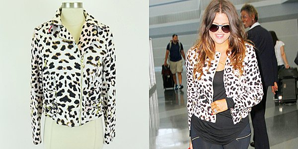 RT @khloefandotcom: Bid on @khloekardashian's Pencey Animal Pink Print Zipper Jacket Size 6 https://t.co/LG07RdZpWD https://t.co/Z8MnqFbBYX