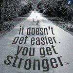 الأشياء لا تُصبح أسهل وإنما أنت تصبح أقوى ! https://t.co/4mlqci1FCF
