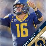 With the No. 1 overall pick in the 2016 NFL Draft, the Los Angeles Rams select Cal QB Jared Goff. https://t.co/hDpVG09C3S
