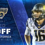 The Los Angeles Rams select California QB Jared Goff  READ 📰 | https://t.co/XbkZ6S7ZP1 https://t.co/20ItZbZuue
