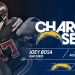 With the 3rd overall pick, the Chargers select Ohio State DE Joey Bosa! #ChargersDraft. https://t.co/zUDdmA1xiq