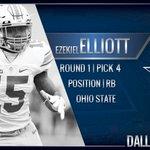 Welcome to the Dallas Cowboys @EzekielElliott #CowboysDraft https://t.co/mW5XqlvXCy