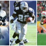 Ezekiel Elliott is the 3rd RB drafted in the top 20 by the @dallascowboys.   The other 2 are HOFers. #NerdNotes https://t.co/6rz1WAtooj