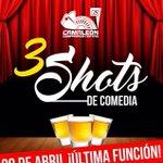 ¡HOY ÚLTIMA FUNCIÓN! Te esperamos a las 9PM en @VerdeActua (Abasolo Norte Núm. 3335 #Saltillo) #Teatro #ComedyNight https://t.co/N7Xj9YopFx