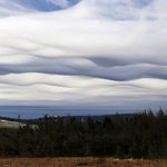 Another great #NLwx snap of the asperatus clouds over the Avalon this morning.  Via Dan Dower, Southern Shore https://t.co/18K3vXo2Sx