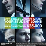 Student debt has increased over 400%. RT for a chance to win $25k #MoneyMonsterPays #Sweeps https://t.co/mYyy37UoVH https://t.co/ZsNn0T1U8G