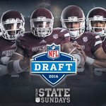 #NFLDraft is here.   🕰: 7 pm CT 📺: @espn @nflnetwork  📱🖥 : https://t.co/5tOV2Ill1s   #FromStateToSundays #HailState https://t.co/xnkFk8x5or
