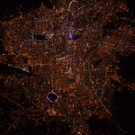 RT astro_tim: #GoodNight #Tehran from Space_Station. #Iran #CitiesFromSpace https://t.co/peE7IYcrNI