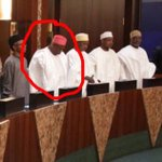 Hello sir,how is the senate sir.Srry to disturb u again sir its about Ganduje sir,today he did it while standing sir https://t.co/H83ACMOIRx