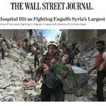 وول ستريت جورنال: قصف مستشفى بـ #حلب في أسوأ المعارك منذ سنوات مخلفا عشرات القتلي المدنيين #سوريا #حلب_تحترق https://t.co/mQI8qUIHx3